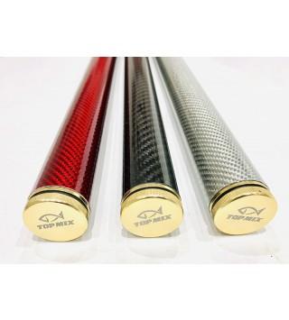 Carbon feeder spicctartó 30 x 600mm - Red